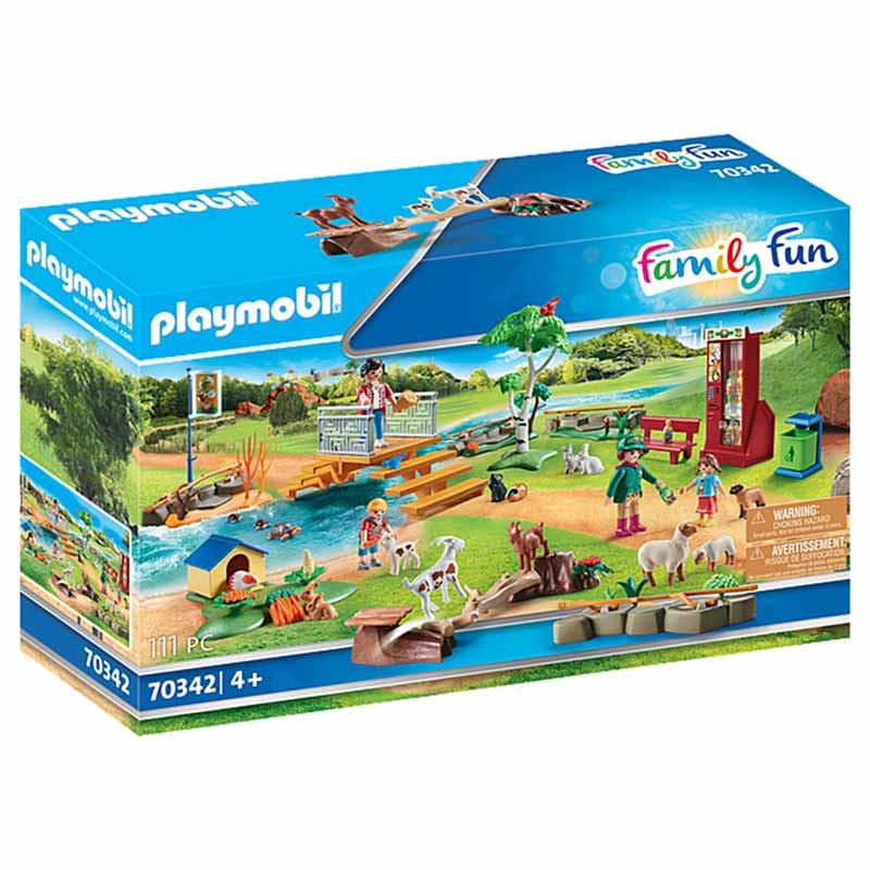 Playmobil Family Fun Jardim Zoológico.