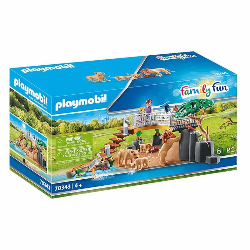 Playmobil Family Fun Recinto exterior para Leões