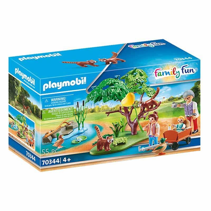 Playmobil Family Fun Recinto dos Pandas Vermelhos