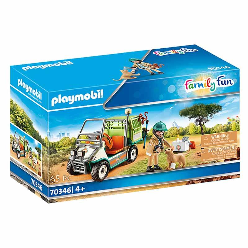 Playmobil Family Fun Veterinário do Zoo