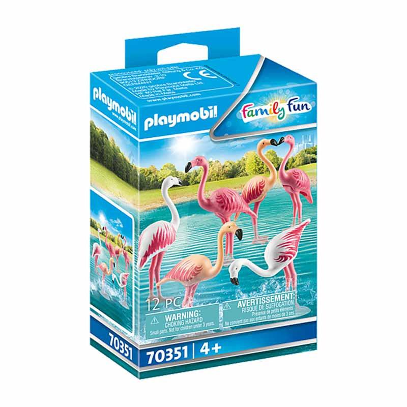 Playmobil Family Fun Bando de flamingos