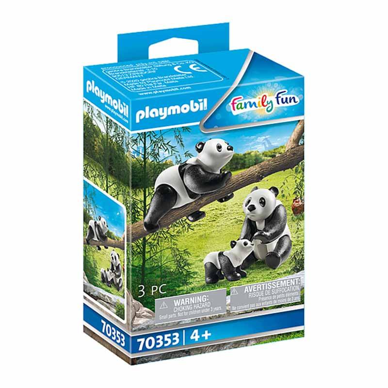 Playmobil Family Fun Pandas com Bebé
