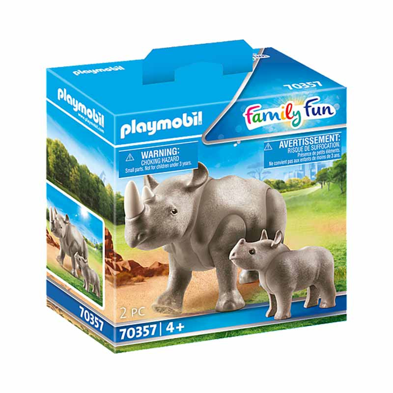 Playmobil Family Fun Rinoceronte com Bebé