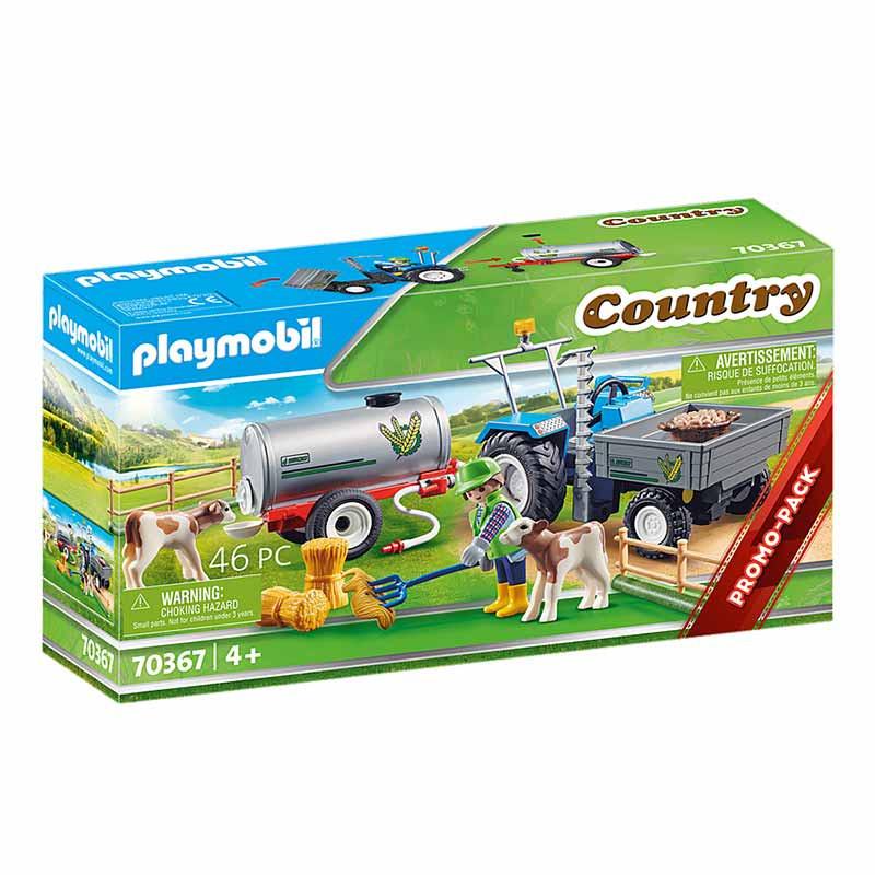 Playmobil Country Trator de Carga com Tanque