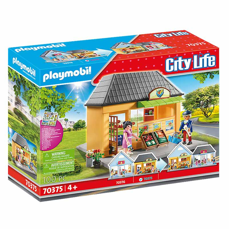 Playmobil City Life O meu Supermercado
