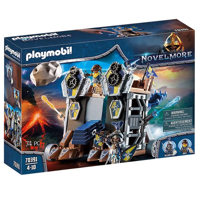Playmobil Fortaleza Móvel de Novelmore