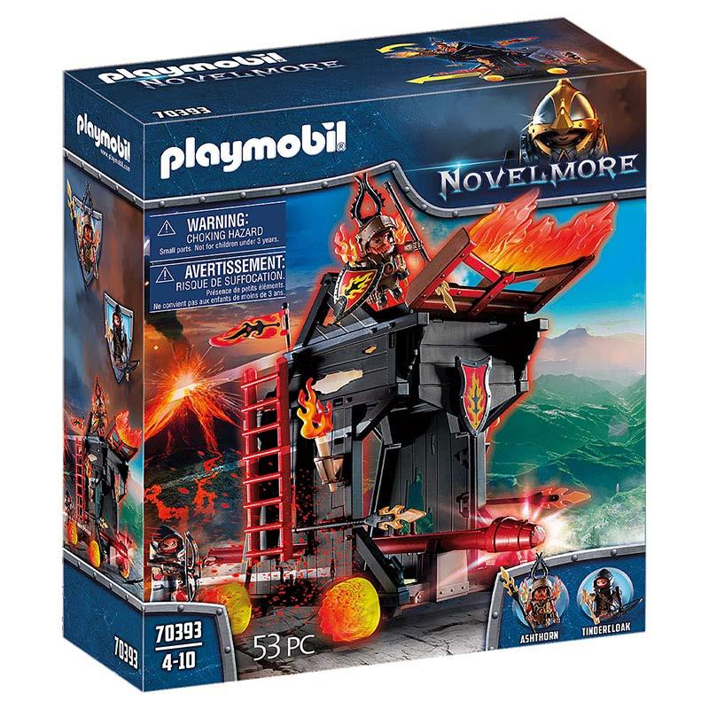 Playmobil Aríete do Fogo dos Bandidos de Burnham