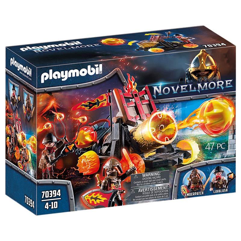 Playmobil Catapulta Lava dos Bandidos de Burnham