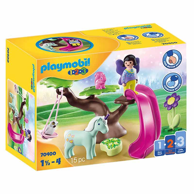 Playmobil 1.2.3 Parque Infantil das Fadas
