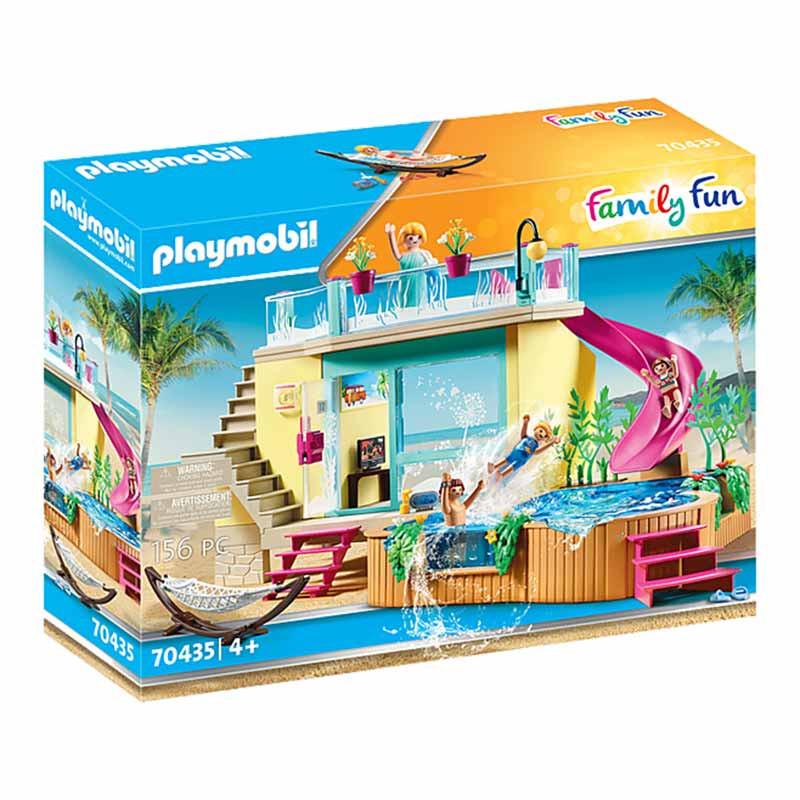 Playmobil Family Fun Bungalow com Piscina