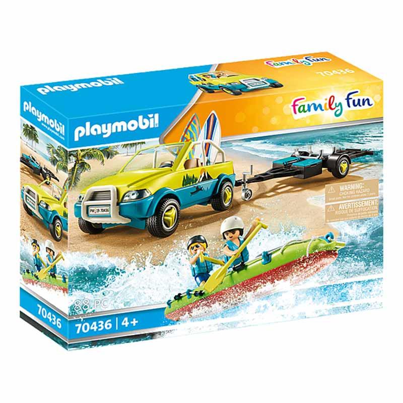 Playmobil Family Fun Carro de Praia com Canoa
