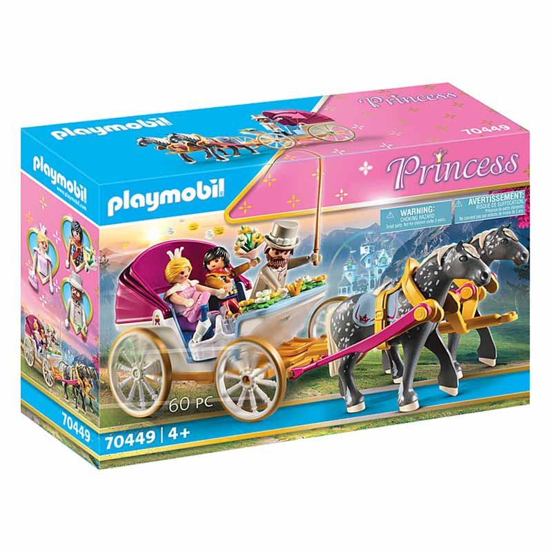 Playmobil Princess Carruagem puxada por cavalos