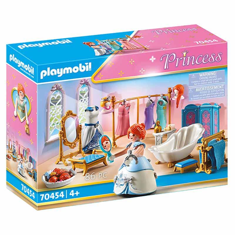 Playmobil Princess Vestiário com banheira