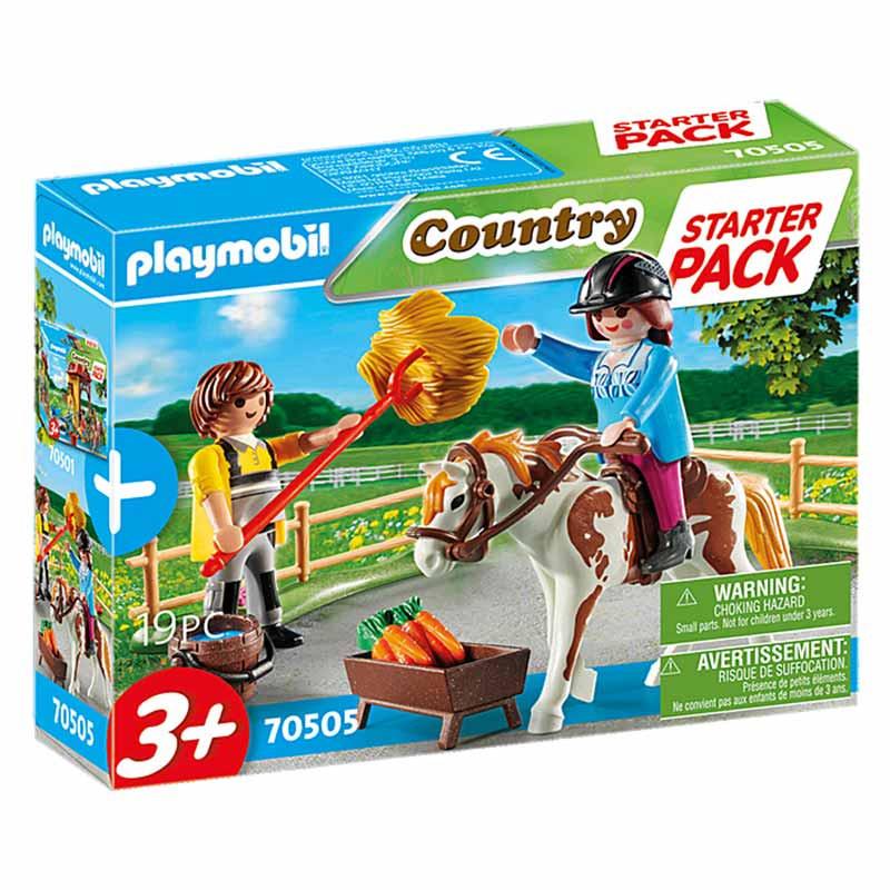 Playmobil Starter Pack Quinta de Cavalos set