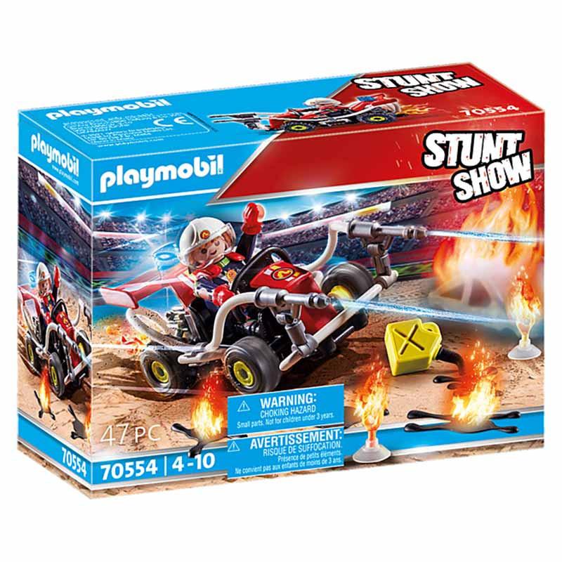 Playmobil Stuntshow Kart Bombeiro