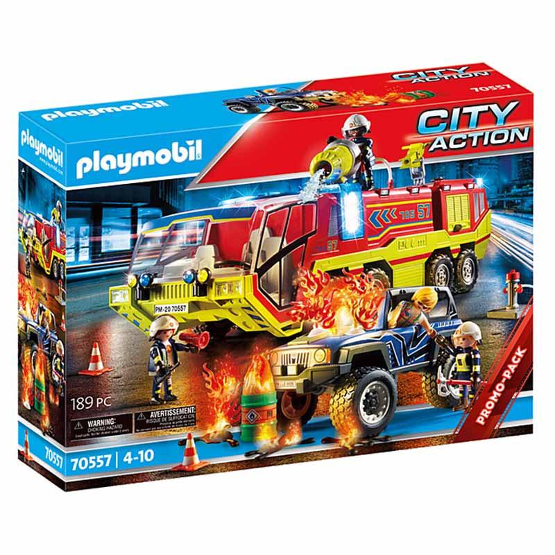 Playmobil City Action  Camião dos Bombeiros