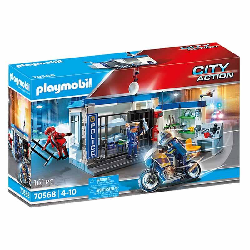 Playmobil City Action Polícia: Fugir da prisão