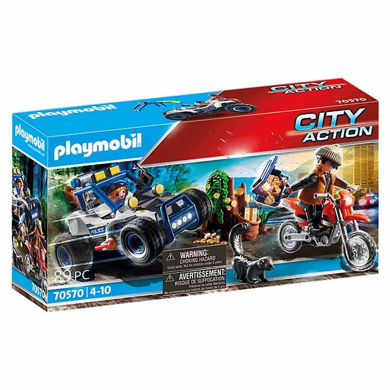 Playmobil City Action Veículo Todo o terreno