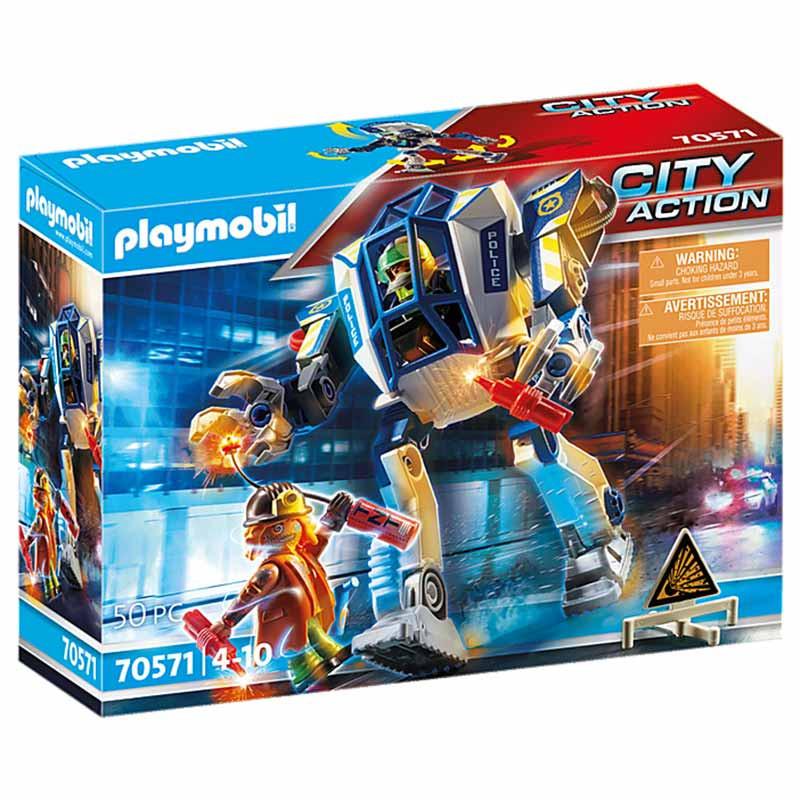 Playmobil City Action Robô Polícia: Op. Especial