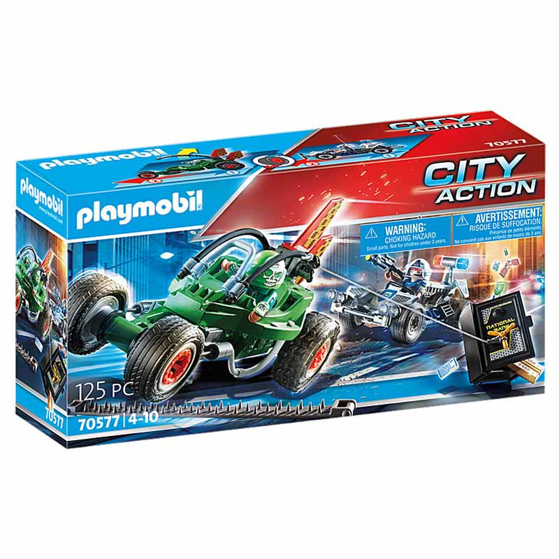 Playmobil City Action Kart Policial