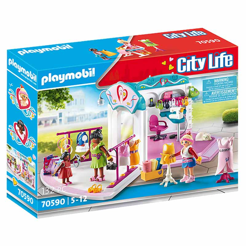 Playmobil City Life Estúdio de Design de Moda