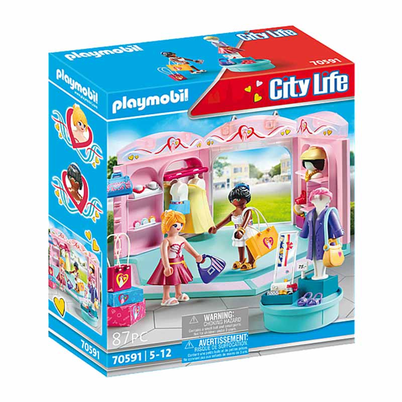 Playmobil City Life Loja de Moda