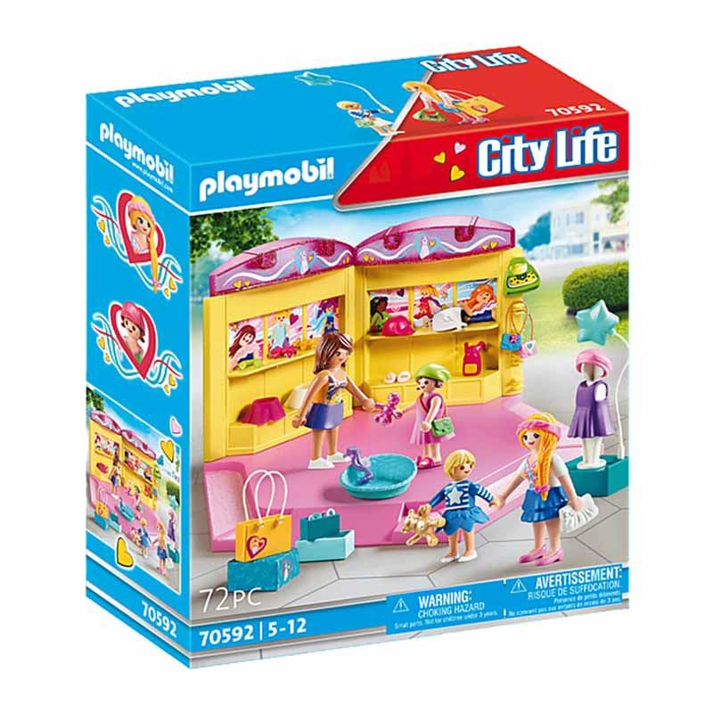 Playmobil City Life Loja de Moda Infantil