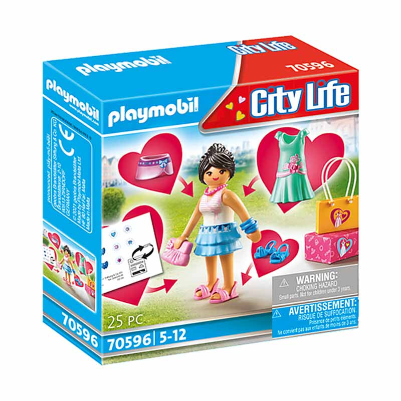 Playmobil City Life Rapariga Fashion