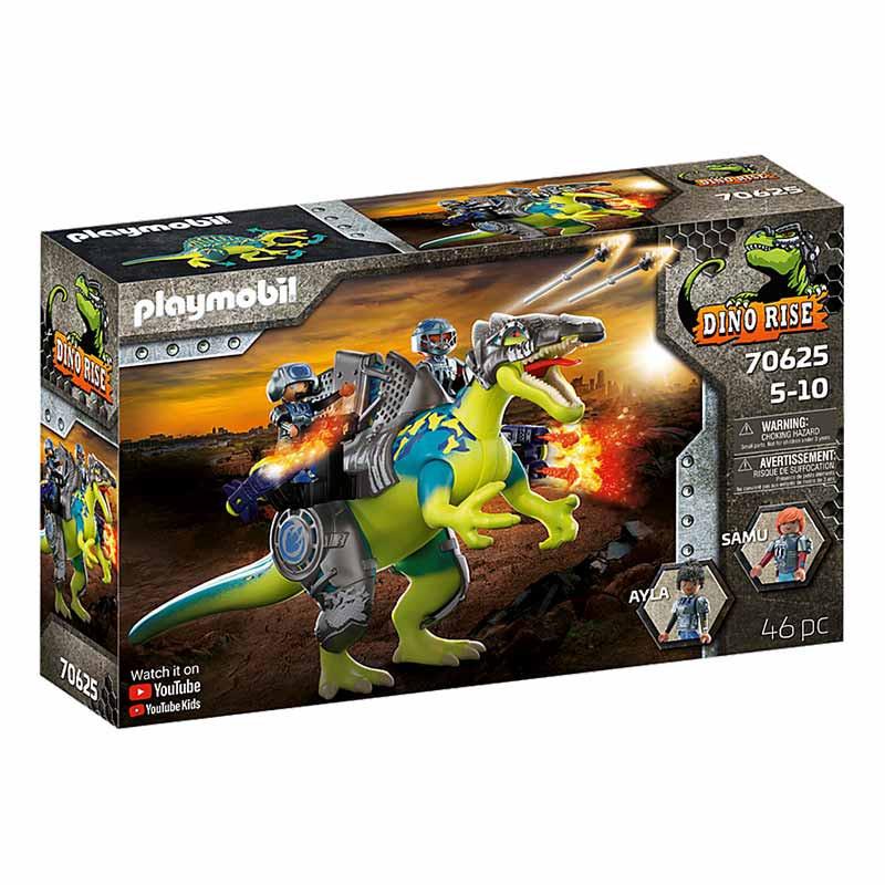 Playmobil Dinos Spinosaurus: Duplo poder de defesa