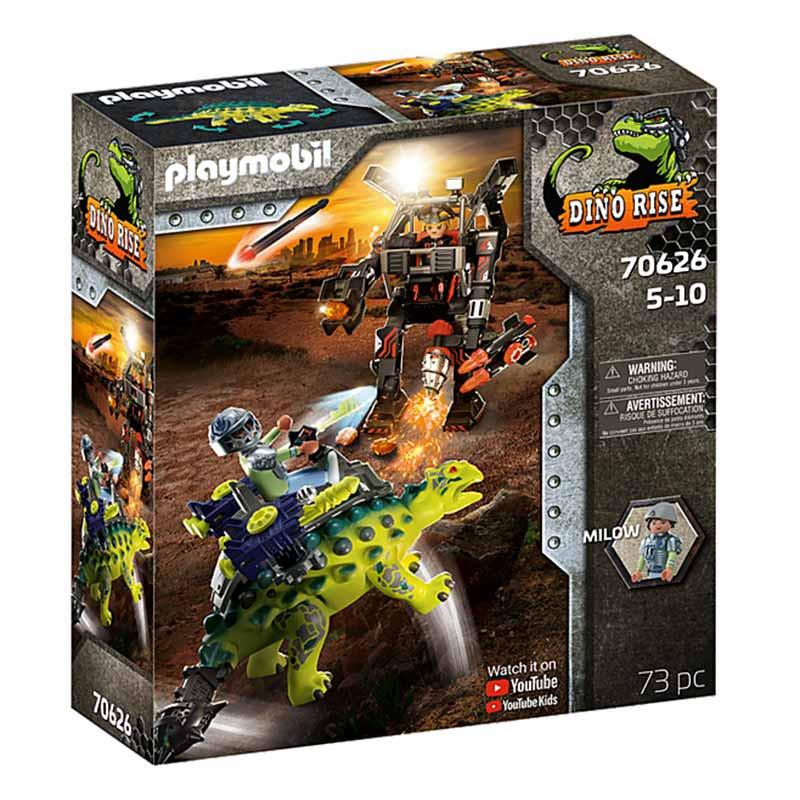 Playmobil Dinos Saichania: Defesa do lutador
