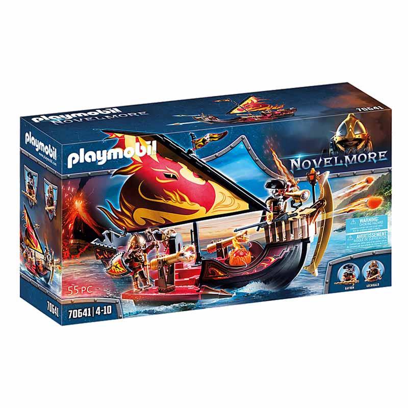 Playmobil Novelmore Barco Bandidos de Burnham