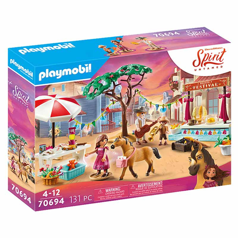 Playmobil Spirit Miradero Festival