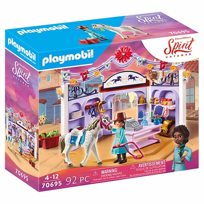 Playmobil Spirit Miradero Loja de equitação