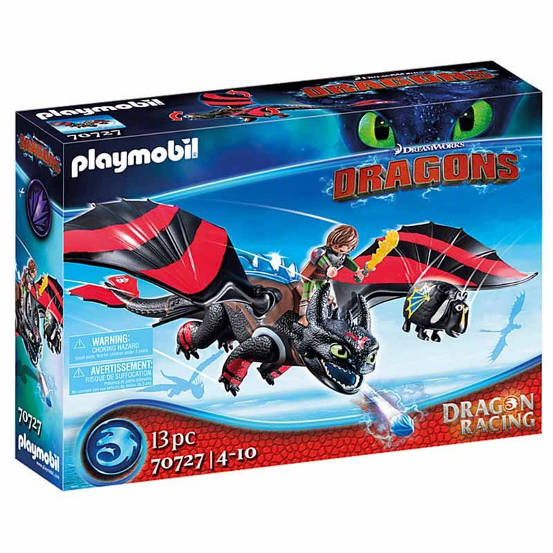 Playmobil Dragon Racing: Hiccup e Desdentado