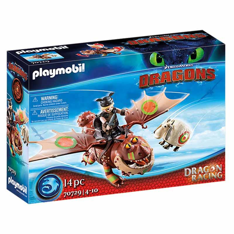 Playmobil Dragon Racing Perna-de-Peixe Carne Alada