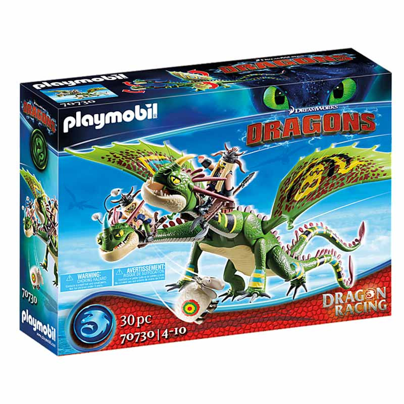 Playmobil Dragon Racing: Brutesco Brutália