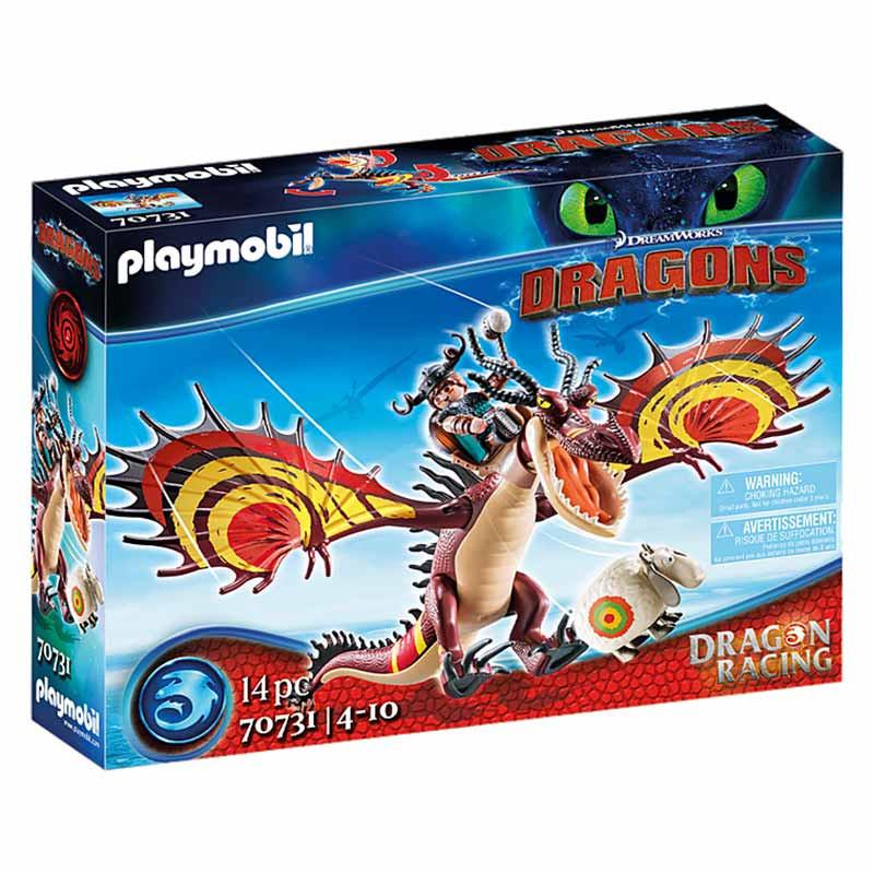 Playmobil Dragon Racing: Escarreta e Garradentes