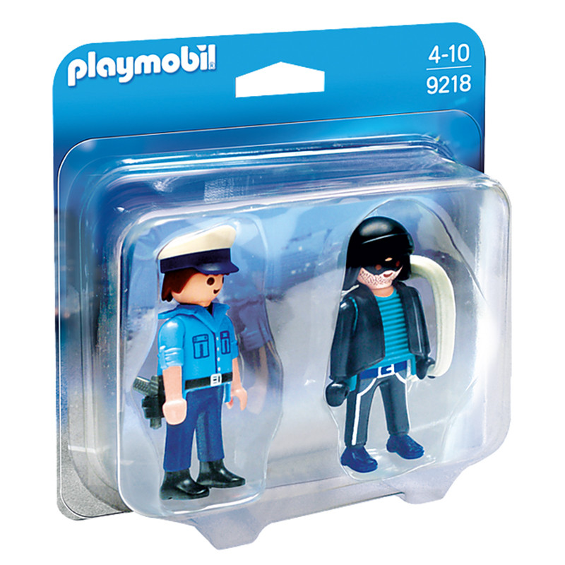Playmobil Duo Pack Polícia e Ladrão