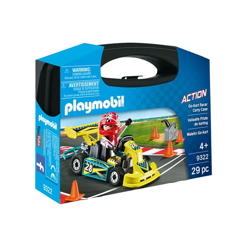 Playmobil Maleta Go-Kart