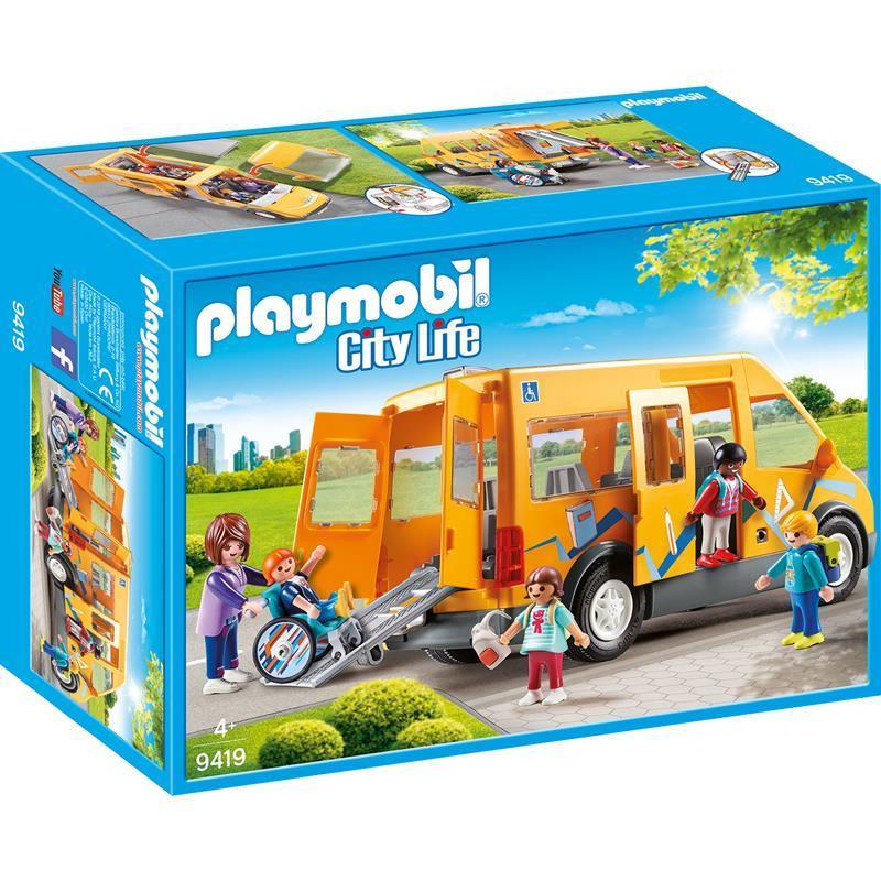 Playmobil Life autocarro escolar