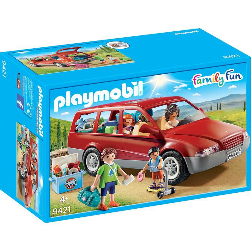 Playmobil Family Fun carro familiar
