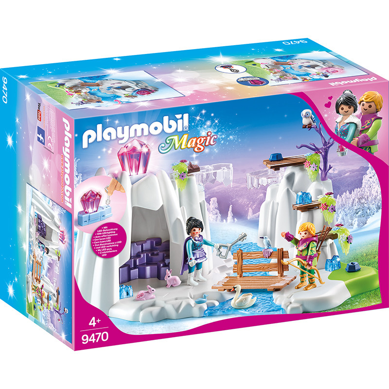 Playmobil Magic esconderijo do cristal do amor