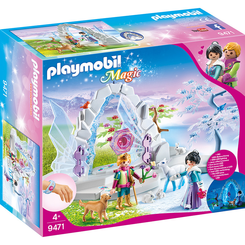 Playmobil Magic portal de cristal mundo de inverno