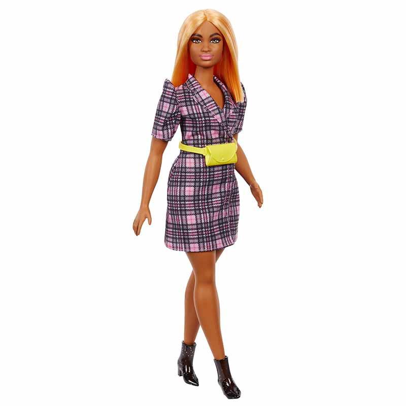 Barbie Fashionista morena vestido blazer