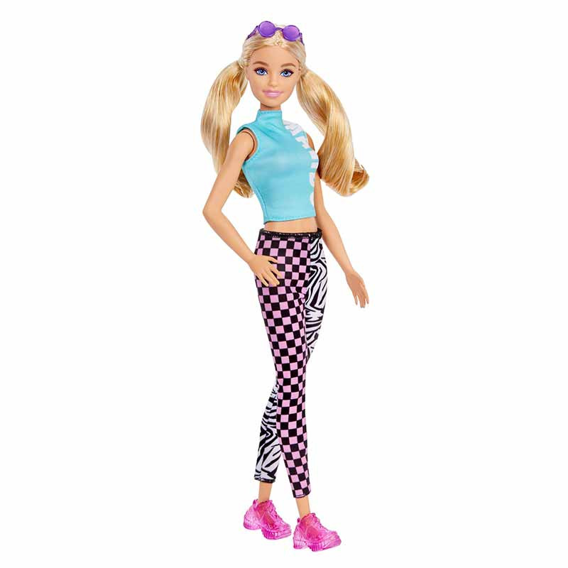 Barbie Fashionista Loira top Malibu e leggings