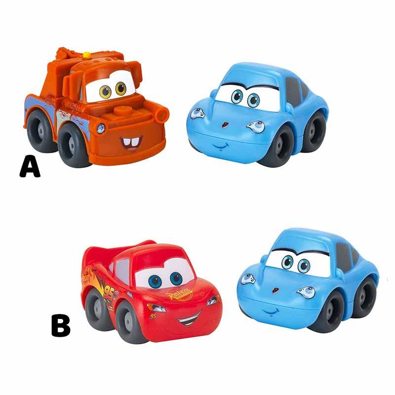 Pack 2 minibólidos Cars