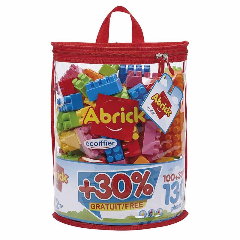 Exp. Saco Blocos 130 Peças Abrick