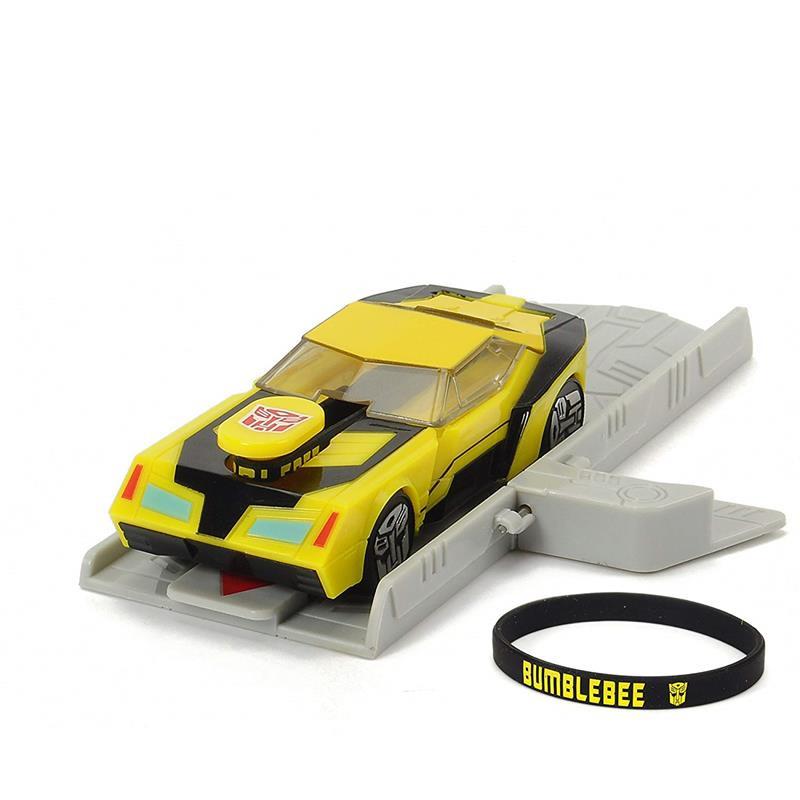 Transformers Bumblebee com rampa lançamento