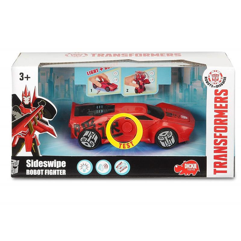 Transformers vehículo Sideswipe 15 cm