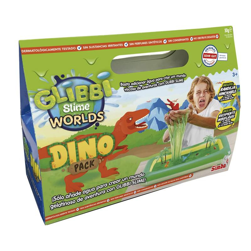 Glibbi Dino pack